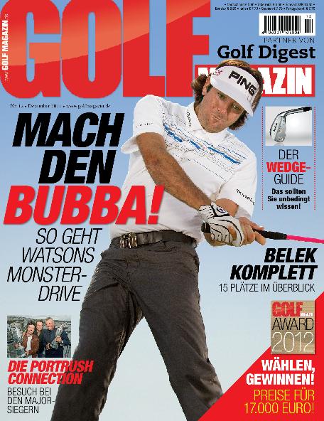 Nr. 12 Dezember 2011 – ab dem 16.11. bei Ihrem Fachzeitschriftenhandel!: Mach den Bubba  so geht Watsons Monster-Drive!