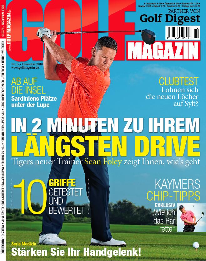 Nr. 12 Dezember 2010 – erscheint am 17. November: In zwei Minuten zu Ihrem längsten Drive