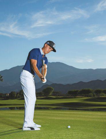 Golftraining mit Rickie Fowler