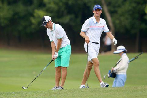 Pep Guardiola beim Golf