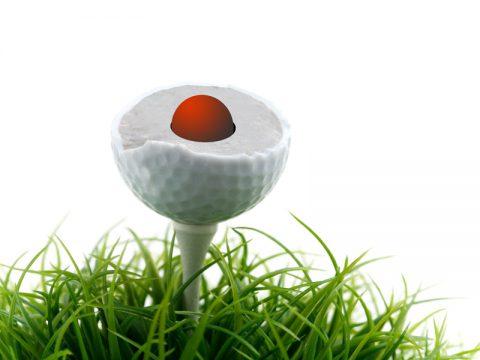 NeverLost Golfball