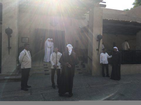 Das Wüstenresort Bab al Shams ist eine Rekonstruktion eines Forts aus vergangenen Zeiten