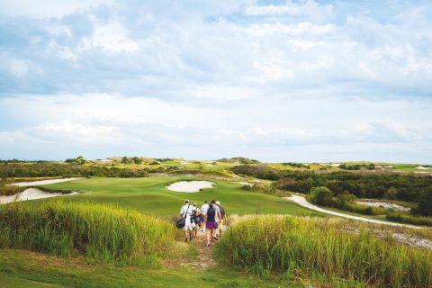 """Streamsong, 14. Grün, Kurs """"Red"""". Laut Golf Digest der beste öffentliche Platz Floridas."""