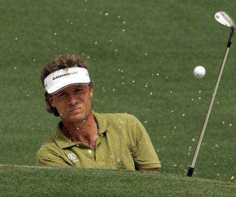 Bernhard Langer löst Golfboom in Augusta aus © 2008 Sport-Informations-Dienst
