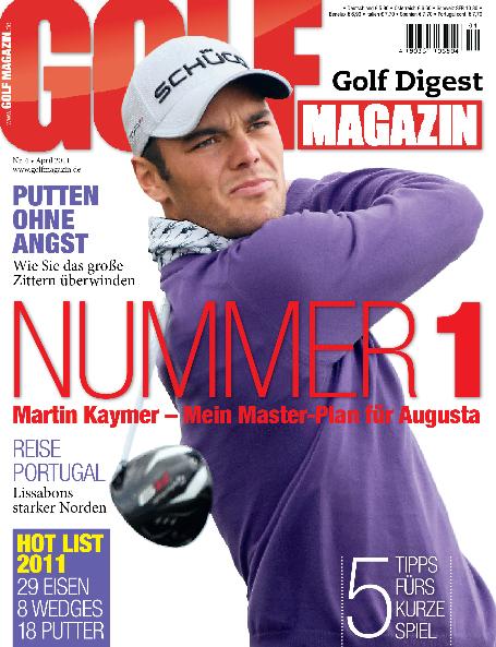 Nr. 4 April 2011: Martin Kaymer