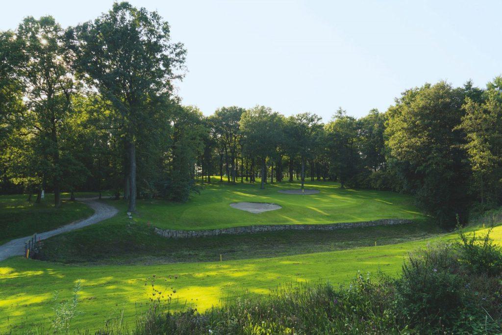 Blick auf Bahn 12 des Golfclub Recklinghausen.