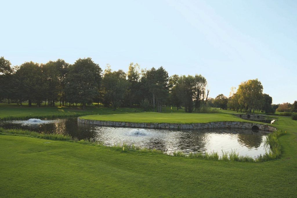 Loch 18 im Golf Club Recklinghausen.