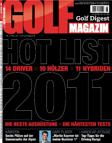 Nr. 03 März 2011 – ab dem 16. Februar erhältlich: Hot List 2011  Driver