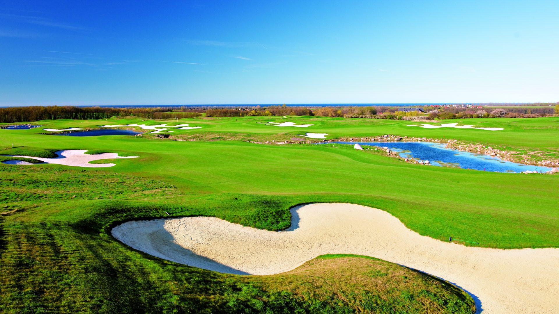 Platz Eikhof des Ostsee Golf Resorts Wittenbeck.