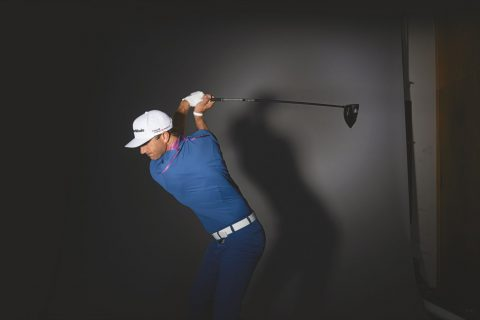 Golftraining mit Dustin Johnson.
