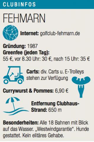 Clubinfos GC Fehmarn