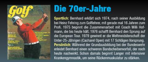 GOLF MAGAZIN besucht Bernhard Langer