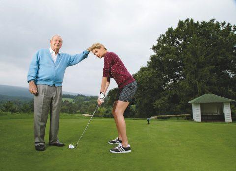 Arnie & Kate Upton