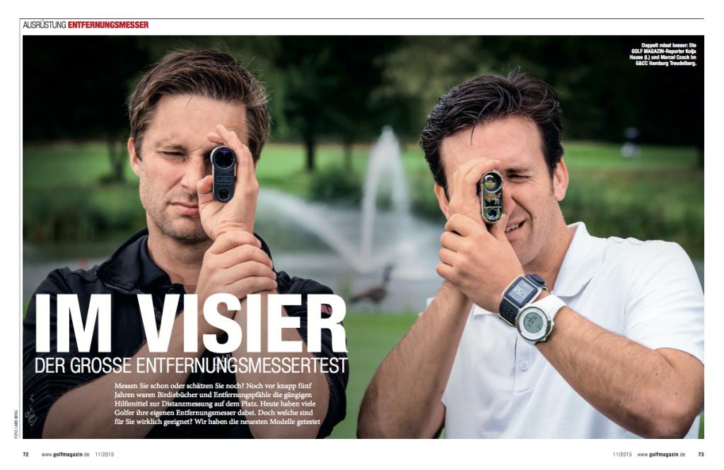 Entfernungsmesser Hamburg : Pro entfernungsmesser messen hilft golf magazin