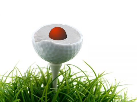 NeverLost Golfball