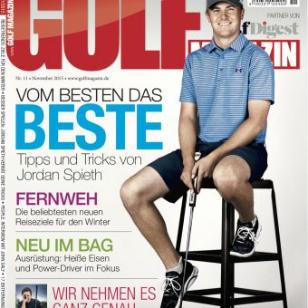 GOLF MAGAZIN November-Ausgabe