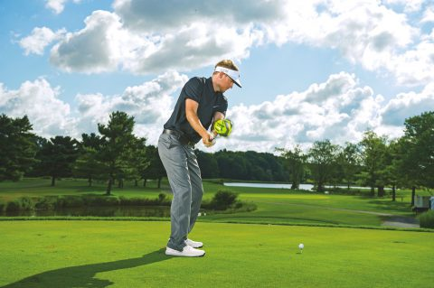 Russell Henley instruction on Wednesday August 5, 2015 at Firestone Country Club in Akron, OH.