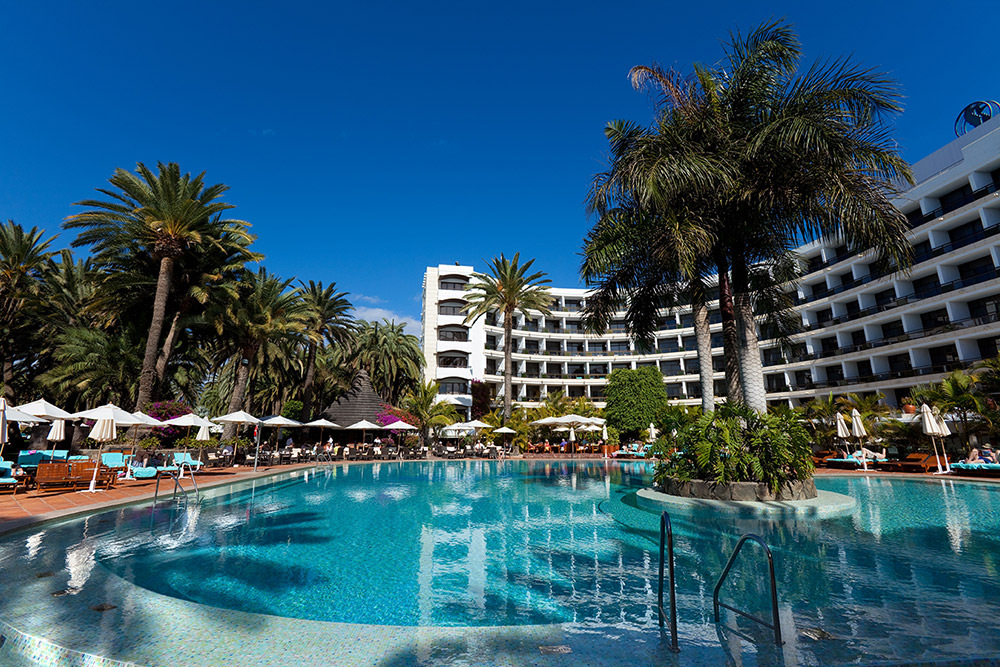 Seaside Hotel Palm Beach – das Luxushotel auf gran Canaria