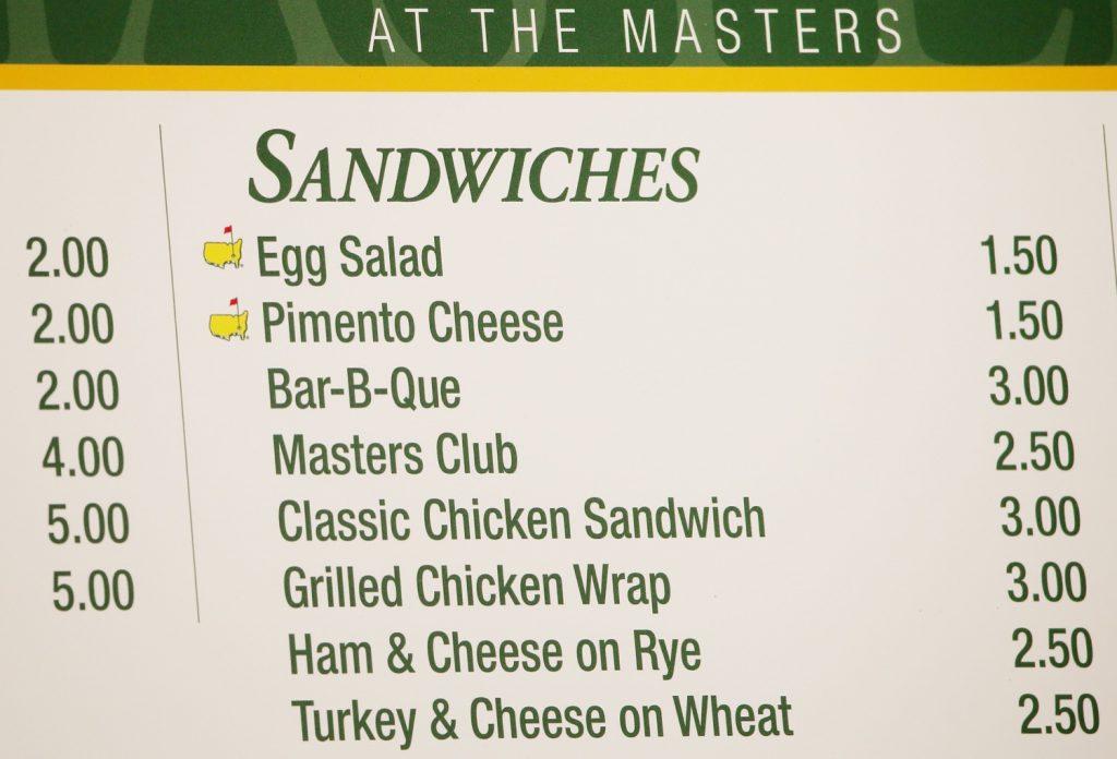 Die berühmten Sandwiches gehören zum Masters dazu...</p><p>(Photo by Andrew Redington/Getty Images)