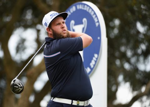 SOTOGRANDE, SPAIN - APRIL 16: Andrew Johnston of England tees off on the 2nd hole during day three of the Open de Espana at Real Club Valderrama on April 16, 2016 in Sotogrande, Spain. (Photo by Ross Kinnaird/Getty Images)