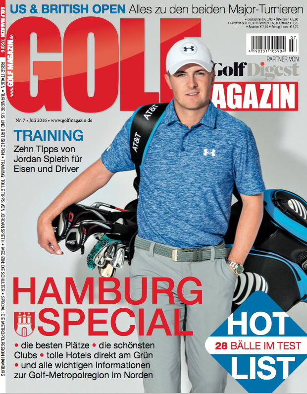 GOLF MAGAZIN 7 2016