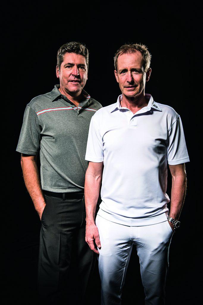 Schulter beim Golf