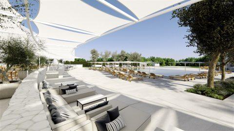 Beste Aussichten von der Terrasse des Hotel Camiral.