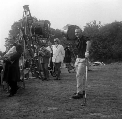 In den Anfangszeiten des Fernsehens lief Golf über den Schirm. Der Grund: Arnold Palmer.
