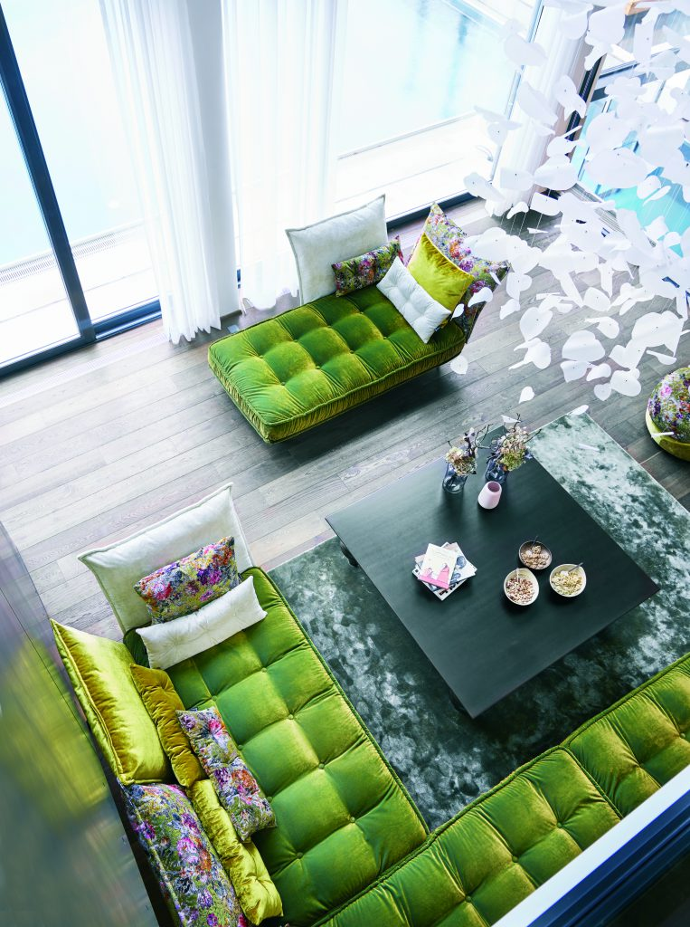 Wo entspannt man am besten? Auf der Wohnzimmer-Couch. Und genau so sieht es im Landhotel Voshövel auch aus.
