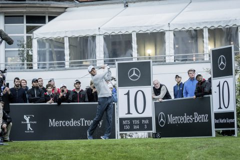 MercedesTrophy World Final 2016; Mercedes-Benz Markenbotschafter Martin Kaymer ; MercedesTrophy World Final 2016; Mercedes-Benz Brand Ambassador Martin Kaymer ;