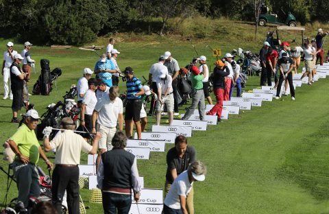 Golfer aus 51 Nationen gingen an den Start.