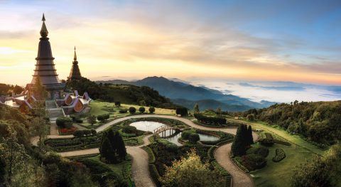 shutterstock_530421970-beautifully-manicured-gardens-surrounding-two-pagodas-on-the-top-of-doi-inthanon-thialands-highest-mountain