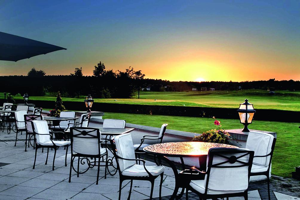 Golf- und Country Club Seddiner See Terrasse