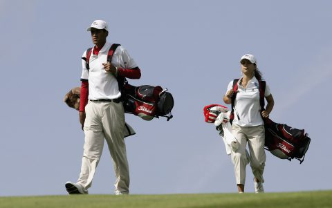 Tony Finau vertritt 2006 das Team USA beim Junior Ryder Cup in Newport.
