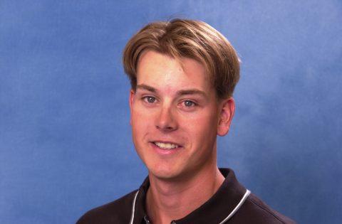 Henrik Stenson im Mai 2001 mit 22 Jahren.