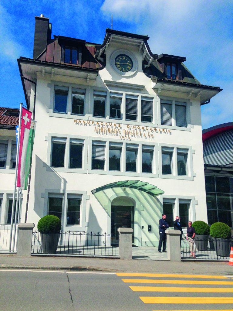 Das Interview mit Danny Willett fand im Hauptsitz seines Uhren-Sponsors Audemars Piguet – in Le Brassus – statt.