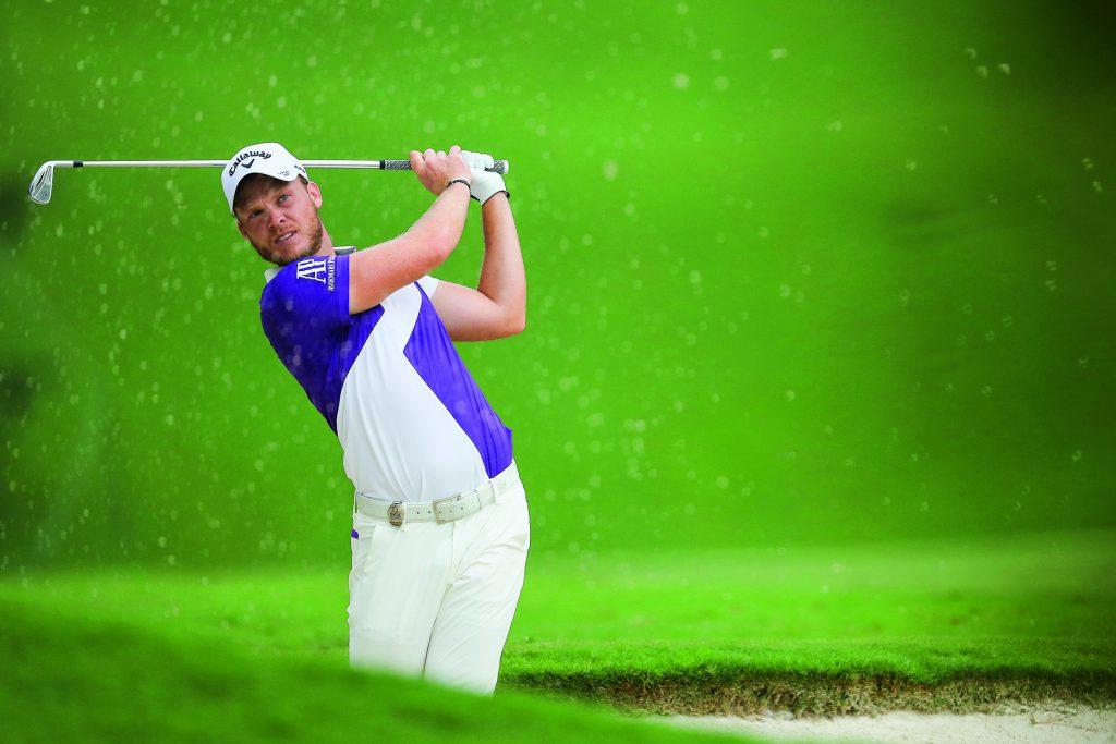 Zweite Runde PGA Championship 2017: Der MAsters-Sieger von 2016, Danny Willett, musste sich 2017 zu oft aus heiklen Lagen befreien. (getty images)