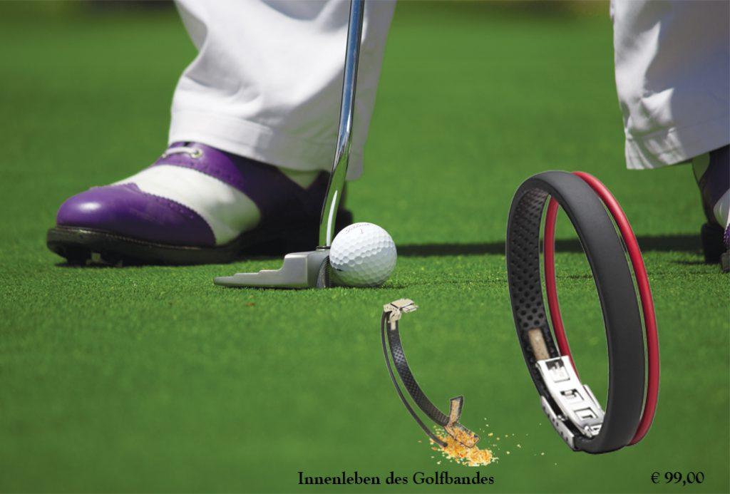 Gewinnspiel Golf Armband
