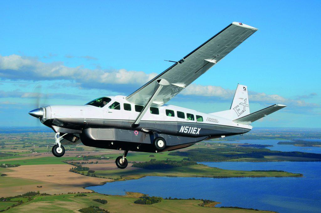 Leserreise: Zu den schottischen Golfplätzen fleigen mit dem Turboprop Typ Cessna Caravan