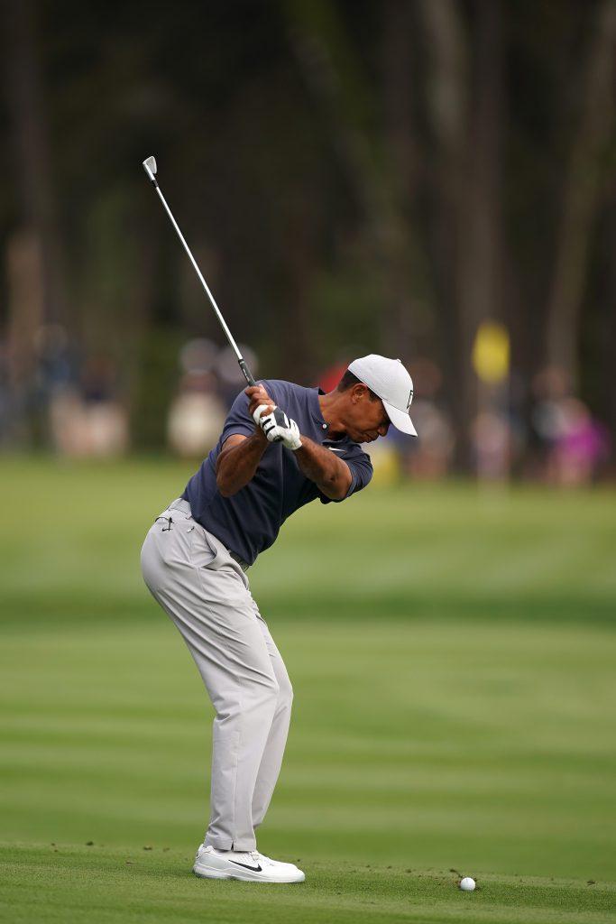 Der neue Golfschwung von Tiger Woods (Foto: Getty Images)