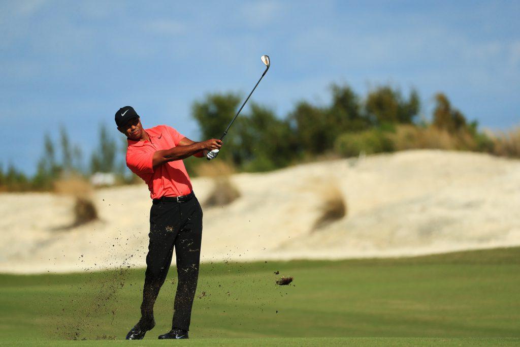 Der neue Golfschwung von Tiger Woods. (Foto: Getty Images)