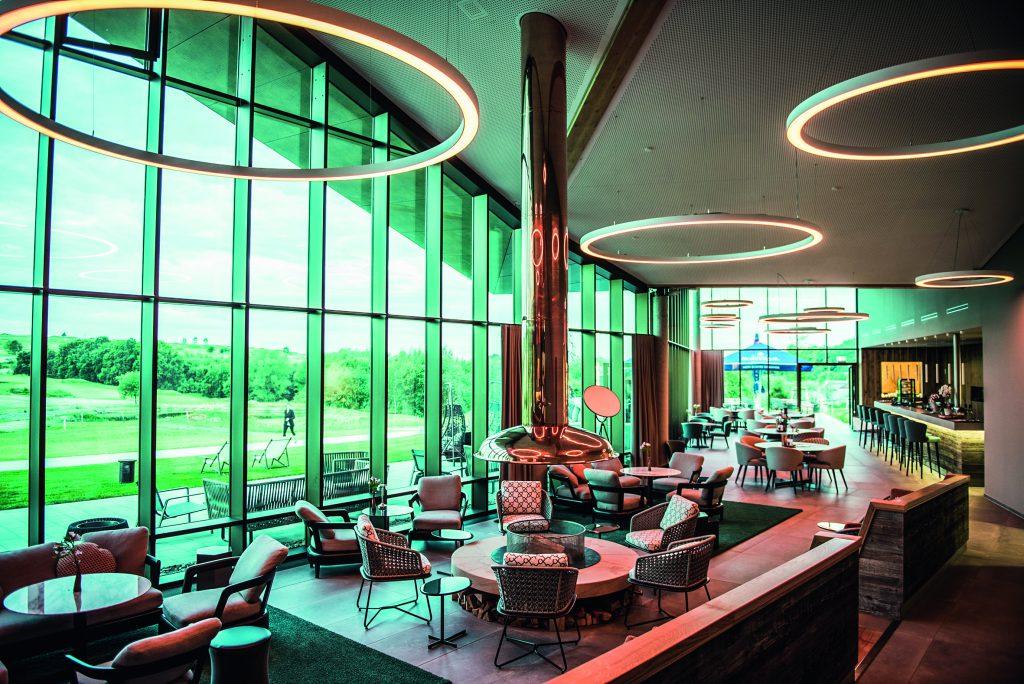 Clubhaus im Golfclub Herzogswalde