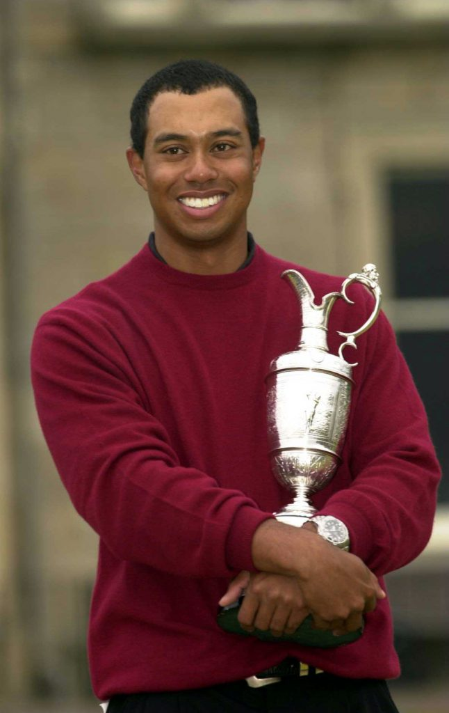 The Open Momente Tiger Woods