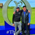 GM-Reporter Marcel Czack spielte im Vorfeld der Open mit Sepp Maier auf dem Dunluce Links. Die Torwart-Legende ist Golf-Botschafter für Irland und Nordirland (weitere Infos: ireland.com).