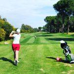 Golfen bei Hitze