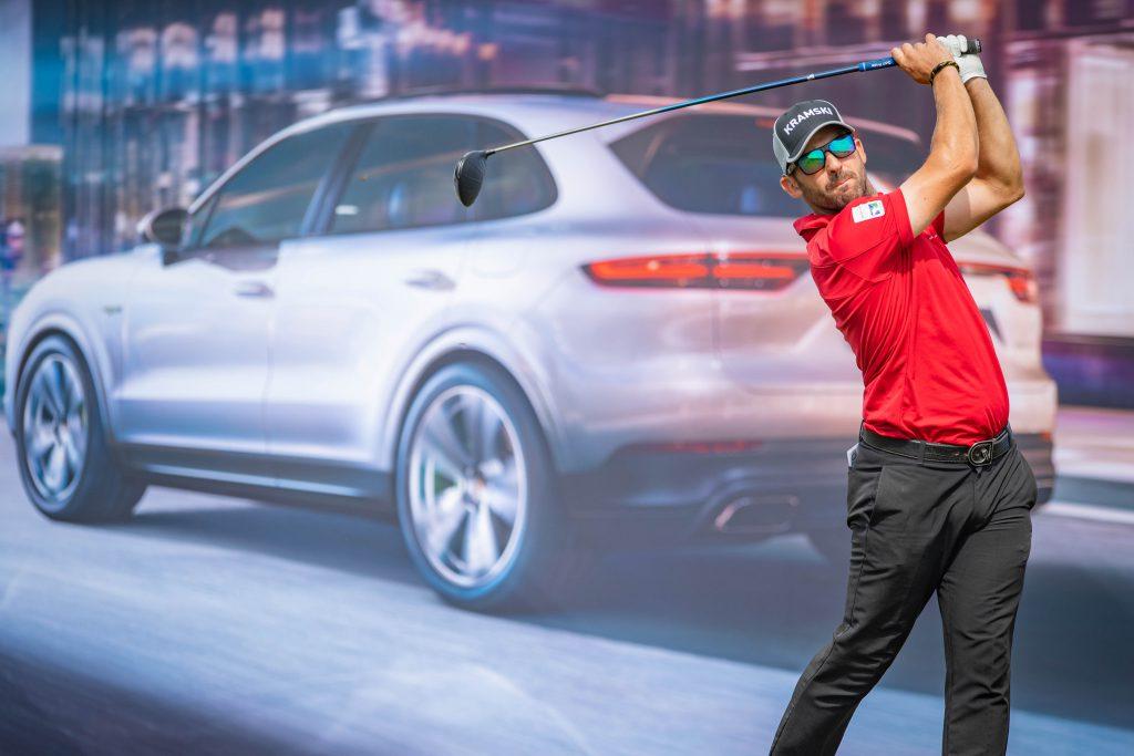 Allen John bei der Porsche European Open 2018. (Foto: Getty Images))