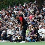 Die Fans in Japan freuten sich über den Auftritt von Tiger Woods. Von dessen 82. PGA Tour Sieg ahnten sie zu diesem Zeitpunkt noch wenig.