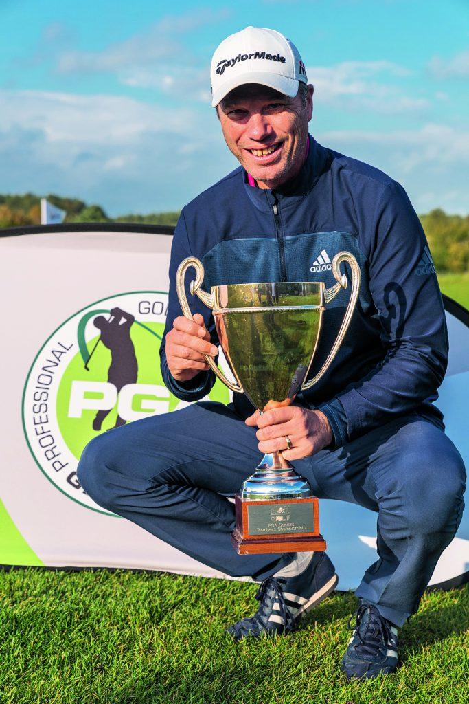 David Britten, Deutscher Golflehrermeister der Senioren 2019. (Foto: PGA of Germany/Michael Fahrig)