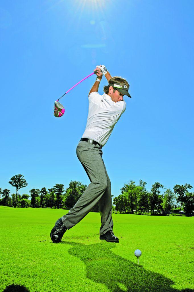 Bubba Watsons Rückschwung. (Foto: Golf Digest)