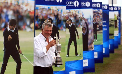 Darren Clarke wurde zum The Open Sieger im Royal St. George's 2011. Das letzte Mal, als dort The Open ausgetragen wurde.